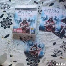 Videojuegos y Consolas: JUEGO PLAY 3 ASSASSIN'S CREED LA HERMANDAD. Lote 139815066