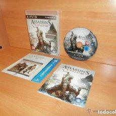 Videojuegos y Consolas: JUEGO PLAY 3 ASSASSIN'S CREED III. Lote 140664642
