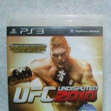 Videojuegos y Consolas: JUEGO PLAYSTATION 3 *UFC 2010 UNDISPUTED * .... (POCAS SEÑALES DE USO). Lote 141135586