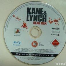 Videojuegos y Consolas: KANE & LYNCH DEAD MEN. PLAYSTATION 3. (SÓLO JUEGO). Lote 141817090