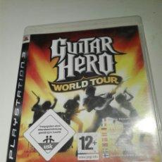 Videojuegos y Consolas: JUEGO GUITAR HERO III PARA PLAYSTATION PS3. WORLD TOUR. Lote 143071812