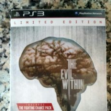 Videojuegos y Consolas: SONY PS3 JUEGO THE EVIL WITHIN EDICIÓN LIMITADA NUEVO. Lote 143078698