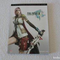 Videojuegos y Consolas: FINAL FANTASY XIII. GUIA OFICIAL COMPLETA - PS3 Y XBOX 360. Lote 143183934