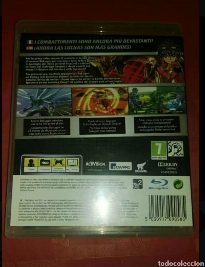 Videojuegos y Consolas: PS3 BAKUGAN TM : DEFENDERS OF THE CORE - Foto 3 - 144168448