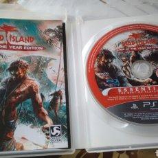 Videojuegos y Consolas: JUEGO PLAY STATION 3 DEAD ISLAND PRÁCTICAMENTE NUEVO. Lote 144374877