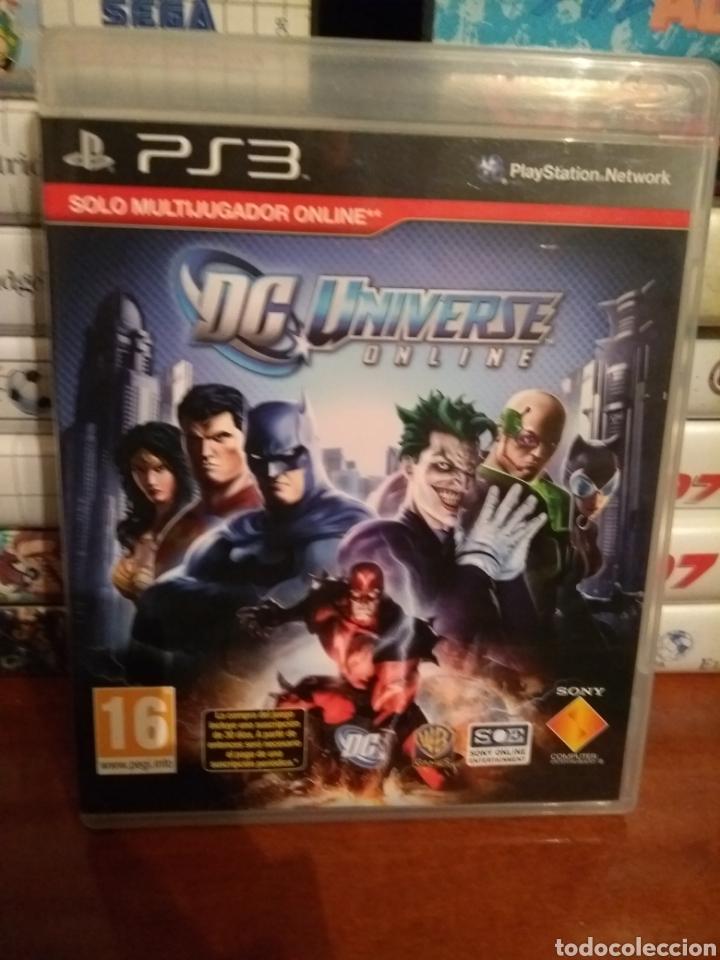 DC UNIVERSE ONLINE PLAYSTATION 3 LEER (Juguetes - Videojuegos y Consolas - Sony - PS3)