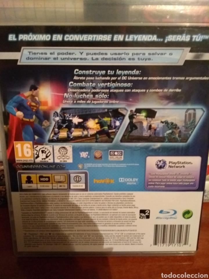Videojuegos y Consolas: Dc universe online PlayStation 3 leer - Foto 2 - 145262168