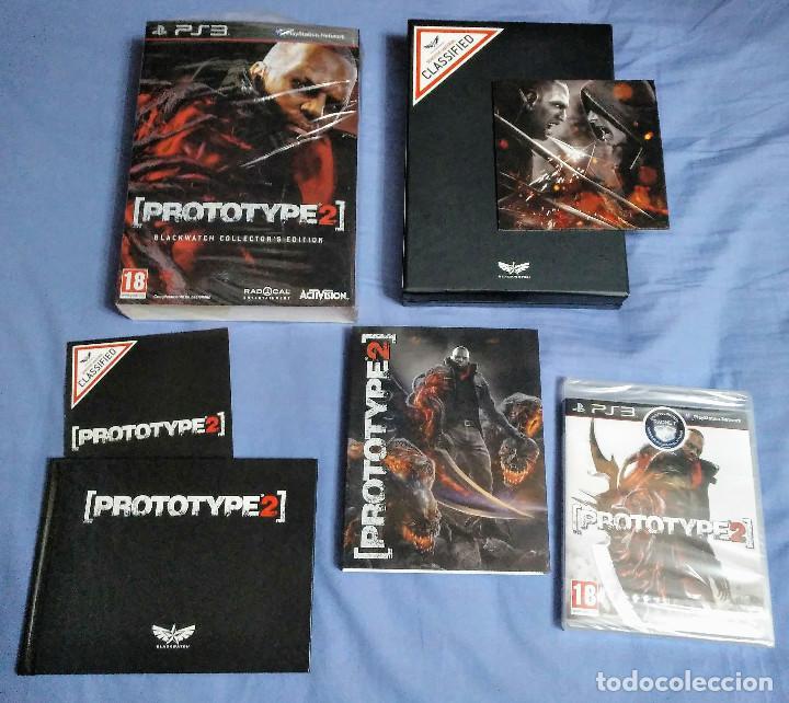 JUEGO PS3 PROTOTYPE 2 BLACKWATCH COLLECTOR´S EDITION - COMPLETO - EDICION PAL ESPAÑA (Juguetes - Videojuegos y Consolas - Sony - PS3)