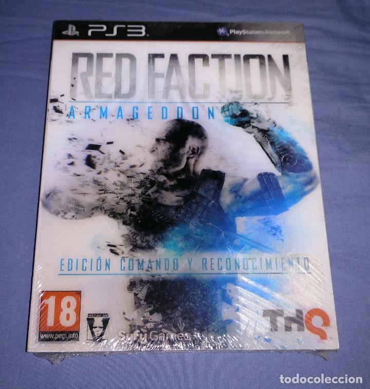 JUEGO PS3 RED FACTION ARMAGEDDON EDICIÓN COMANDO Y RECONOCIMIENTO - NUEVO - PAL ESPAÑA (Juguetes - Videojuegos y Consolas - Sony - PS3)