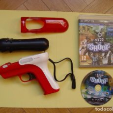 Videojuegos y Consolas: PISTOLA, MANDO MOVE Y JUEGO (THE SHOOT) PLAYSTATION 3 (2010) ¡ORIGINALES! . Lote 145484590