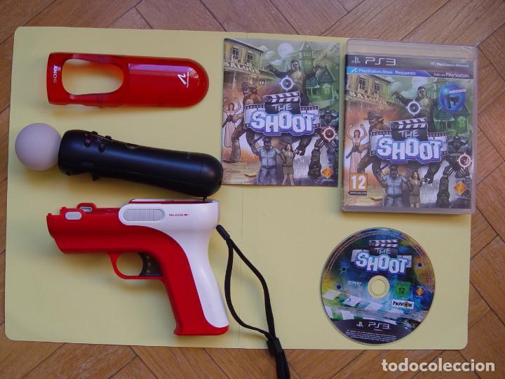 Videojuegos y Consolas: Pistola, mando move y juego (The shoot) PLAYSTATION 3 (2010) ¡Originales! - Foto 2 - 145484590