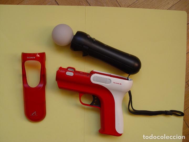 Videojuegos y Consolas: Pistola, mando move y juego (The shoot) PLAYSTATION 3 (2010) ¡Originales! - Foto 4 - 145484590