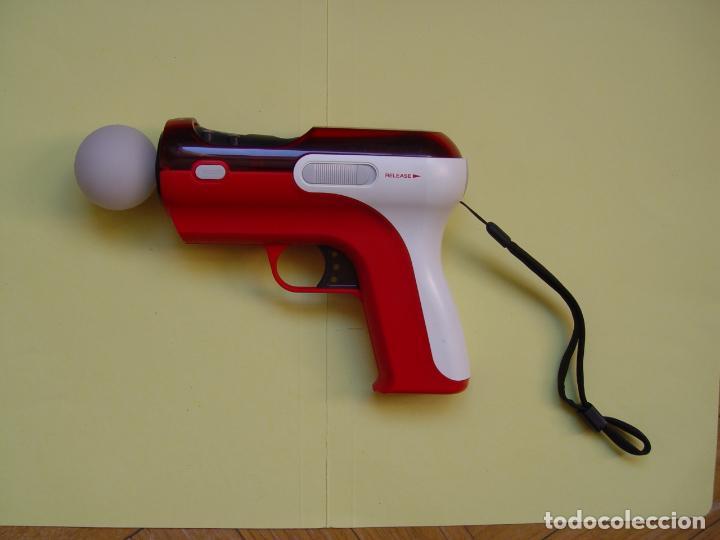 Videojuegos y Consolas: Pistola, mando move y juego (The shoot) PLAYSTATION 3 (2010) ¡Originales! - Foto 5 - 145484590