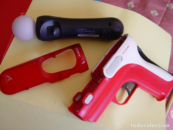 Videojuegos y Consolas: Pistola, mando move y juego (The shoot) PLAYSTATION 3 (2010) ¡Originales! - Foto 6 - 145484590