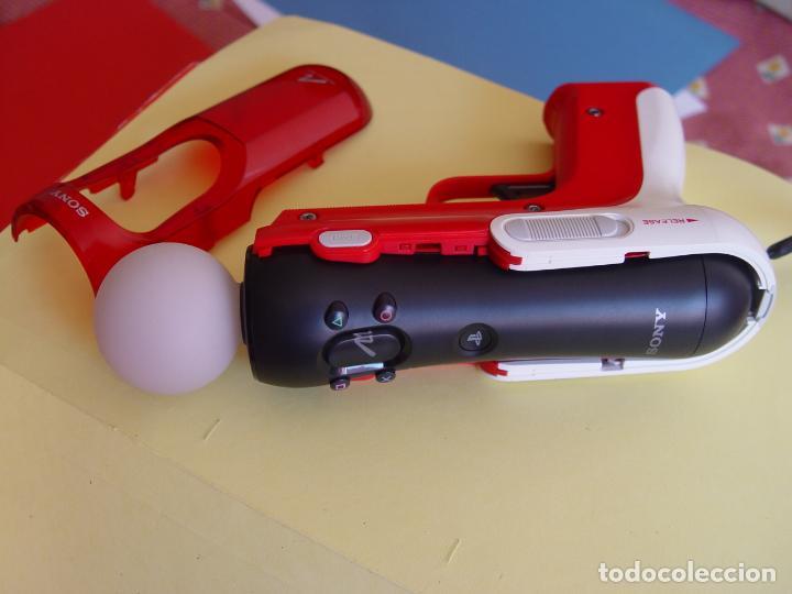Videojuegos y Consolas: Pistola, mando move y juego (The shoot) PLAYSTATION 3 (2010) ¡Originales! - Foto 8 - 145484590