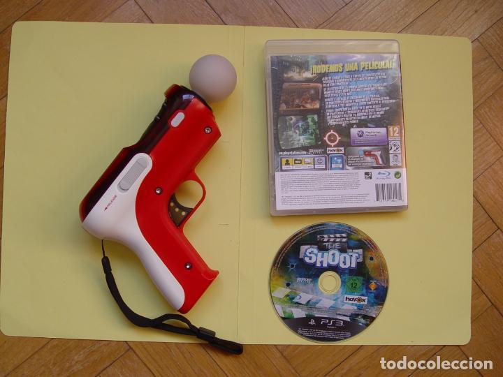 Videojuegos y Consolas: Pistola, mando move y juego (The shoot) PLAYSTATION 3 (2010) ¡Originales! - Foto 13 - 145484590