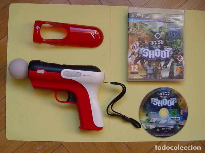 Videojuegos y Consolas: Pistola, mando move y juego (The shoot) PLAYSTATION 3 (2010) ¡Originales! - Foto 14 - 145484590