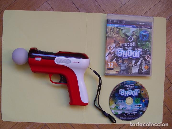 Videojuegos y Consolas: Pistola, mando move y juego (The shoot) PLAYSTATION 3 (2010) ¡Originales! - Foto 15 - 145484590