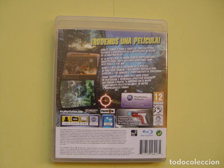 Videojuegos y Consolas: Pistola, mando move y juego (The shoot) PLAYSTATION 3 (2010) ¡Originales! - Foto 22 - 145484590