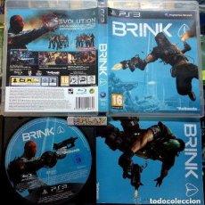 Videojuegos y Consolas: JUEGO PLAY 3 BRINK. Lote 145556414