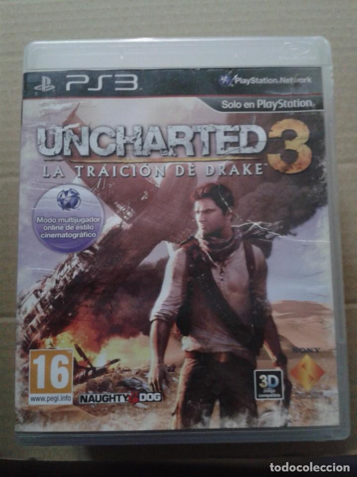 UNCHARTED 3: TRAICION DE DRAKE. PS3 (Juguetes - Videojuegos y Consolas - Sony - PS3)