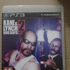 Videogiochi e Consoli: KANE & LYNCH 2: DOG DAYS. PS3. Lote 145790674