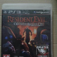 Videojuegos y Consolas: RESIDENT EVIL: OPERATION RACCOON CITY. PS3. Lote 145792514