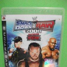 Videojuegos y Consolas: JUEGO SMACK DOWN VS RAW 2008 SONY PLAYSTATION 3 PS3 ESPAÑA. NUEVO¡¡. Lote 145856898