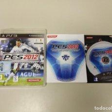 Videojuegos y Consolas: J- JUEGO PRO EVOLUTION SOCCER 2012 PS3 PAL . Lote 146077442