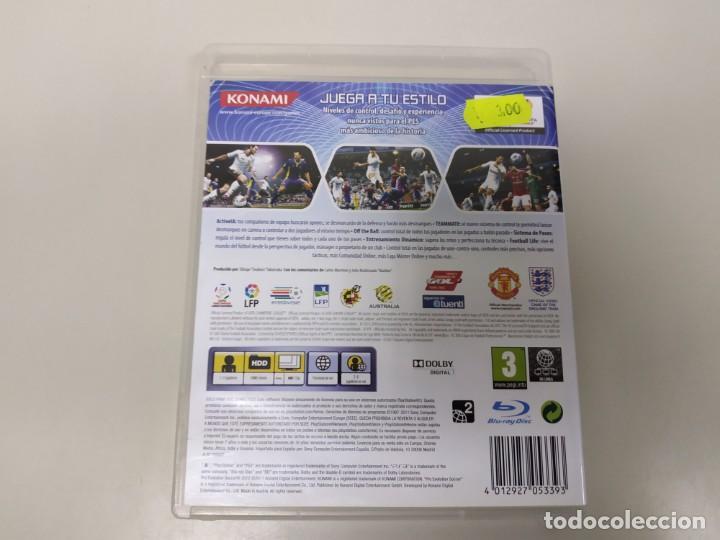 Videojuegos y Consolas: J- JUEGO PRO EVOLUTION SOCCER 2012 PS3 PAL - Foto 2 - 146077442