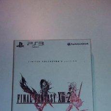 Videojuegos y Consolas: FINAL FANTASY XIII-2 PS3 EDICION COLECCIONISTA LIMITADA. Lote 146757966
