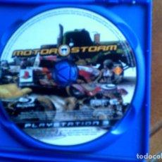 Videojuegos y Consolas: JUEGO DE PLAY 3 MOTOR STORM AÑO 2006 SIN CARATULA. Lote 146825158