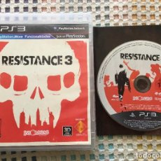 Videojuegos y Consolas: RESISTANCE 3 3D MOVE COMPATIBLE PS3 PLAY STATION 3 PLAYSTATION 3 KREATEN . Lote 147199922