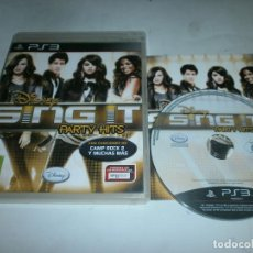 Videojuegos y Consolas: DISNEY SING IT PARTY HITS PLAYSTATION 3 PAL ESPAÑA . Lote 147412630