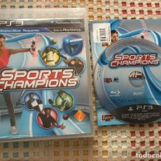 Videojuegos y Consolas: SPORTS CHAMPIONS PS3 PLAYSTATION 3 PLAY STATION 3 KREATEN SPORT MOVE. Lote 147527190