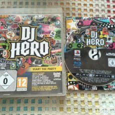 Videojuegos y Consolas: DJ HERO 1 STAT THE PARTY GUITAR HERO ACTIVISION PS3 PLAYSTATION 3 PLAY STATION 3 KREATEN SPORT MOVE. Lote 147528430