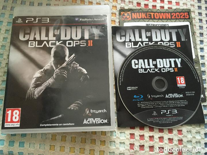 CALL OF DUTY BLACK OPS 2 II PS3 PLAYSTATION 3 PLAY STATION 3 KREATEN