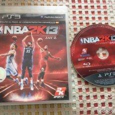 Videojuegos y Consolas: NBA 2K 13 2K13 JAY Z SPORTS PS3 PLAYSTATION 3 PLAY STATION 3 KREATEN NFS. Lote 147762246