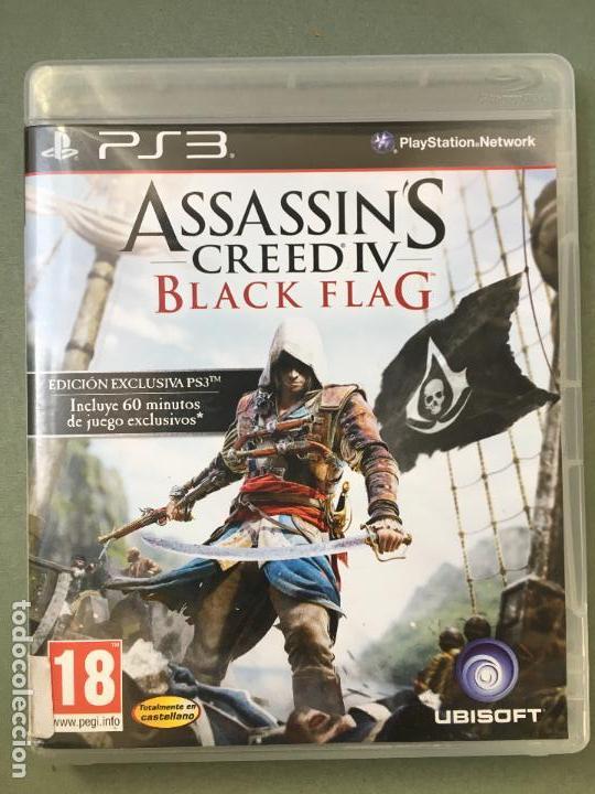 JUEGO ASSASSIN CREEDIV BLACK FLAG, EDICIÓN EXCLUSIVA PARA PS3, CON 60 MINUTOS DE JUEGO EXCLUSIVOS (Juguetes - Videojuegos y Consolas - Sony - PS3)