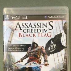 Videojuegos y Consolas: JUEGO ASSASSIN CREEDIV BLACK FLAG, EDICIÓN EXCLUSIVA PARA PS3, CON 60 MINUTOS DE JUEGO EXCLUSIVOS. Lote 147878406