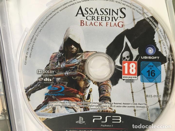 Videojuegos y Consolas: JUEGO ASSASSIN CREEDIV BLACK FLAG, EDICIÓN EXCLUSIVA PARA PS3, CON 60 MINUTOS DE JUEGO EXCLUSIVOS - Foto 3 - 147878406