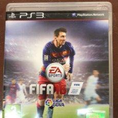 Videojuegos y Consolas: FIFA 16 JUEGO DE PLAY 3. Lote 148172602