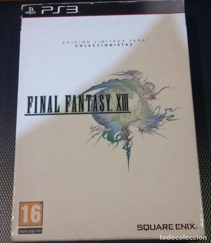 FINAL FANTASY XIII PS3, COMPLETO EDICION LIMITADA COLECCIONISTAS (Juguetes - Videojuegos y Consolas - Sony - PS3)