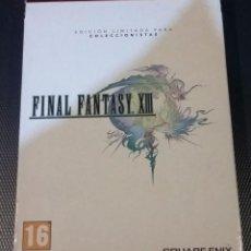 Videojuegos y Consolas: FINAL FANTASY XIII PS3, COMPLETO EDICION LIMITADA COLECCIONISTAS. Lote 149478590