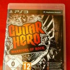 Videojuegos y Consolas: GUITAR HERO - JUEGO PS3 - PLAYSTATION 3 (PAL) WARRIORS OF ROCK - HEAVY - BLACK SABBATH - KISS -QUEEN. Lote 149988558