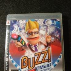 Videojuegos y Consolas: JUEGO PS3 BUZZ, PLAYSTATION 3. Lote 150664853