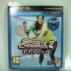 Videojuegos y Consolas: SPORTS CHAMPIONS - PLAY STATION 3 - PS3 TRES III - VIDEO JUEGO SONY - VARIOS DEPORTES . Lote 150817426