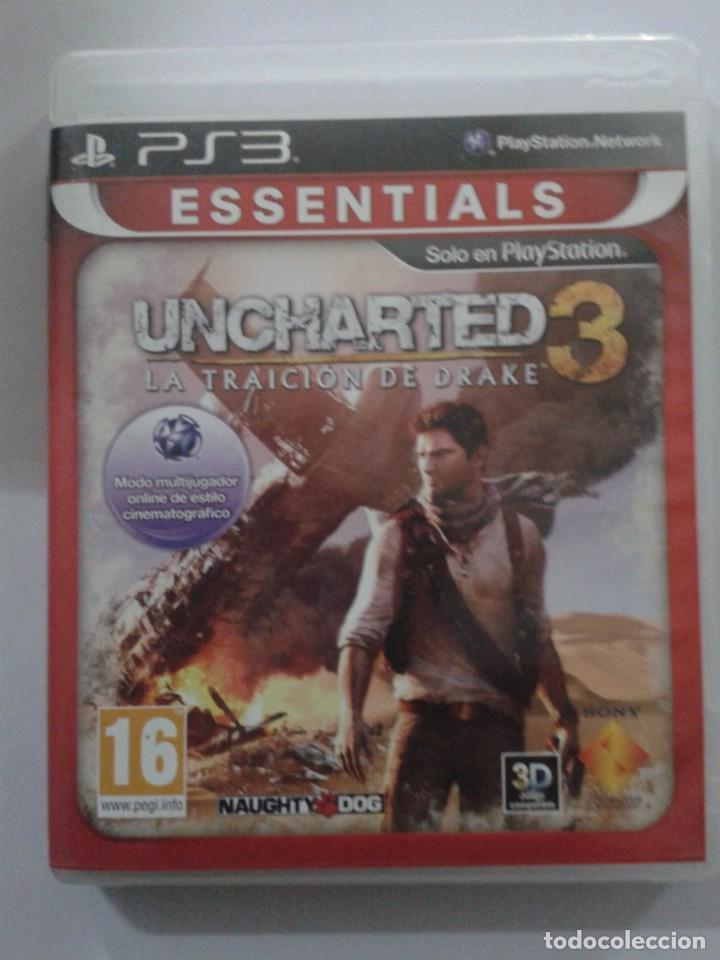 UNCHARTED 3: LA TRAICIÓN DE DRAKE. ESSENTIALS. PS3 (Juguetes - Videojuegos y Consolas - Sony - PS3)