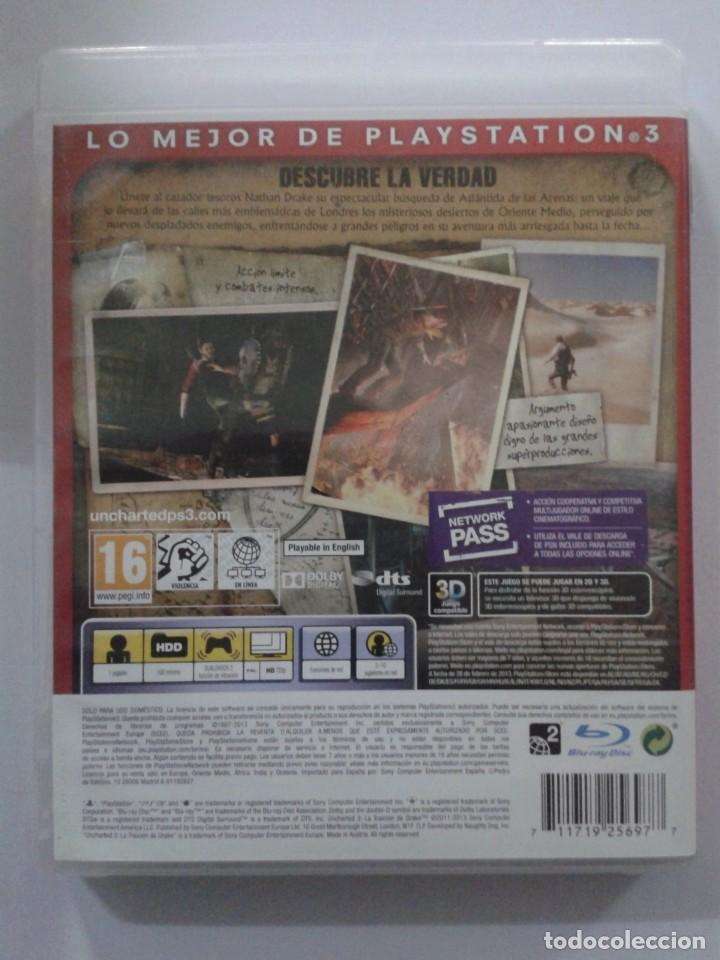 Videojuegos y Consolas: Uncharted 3: La Traición de Drake. ESSENTIALS. PS3 - Foto 2 - 151378282