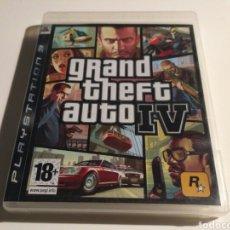 Videojuegos y Consolas: GRAND THEFT AUTO IV (PS3). Lote 151573505